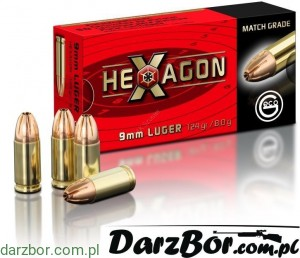 Amunicja 9 mm GECO Hexagon