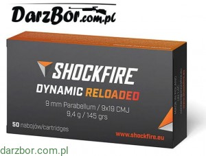 Amunicja 9 mm Shockfire Dynamic 9,4g