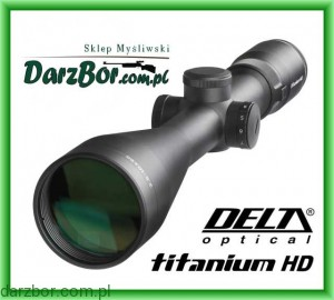Luneta Delta Optical Titanium 2,5-10 x 56 HD Di